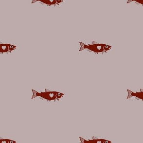 Dusty Rose Salmon