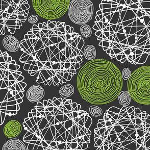 "Doodle pattern, XXL, 26.67"""