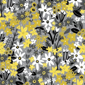 Garden Jems (Yellow and Gray)