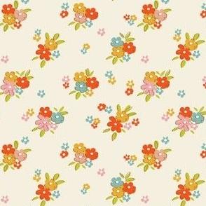 Dainty vintage florals