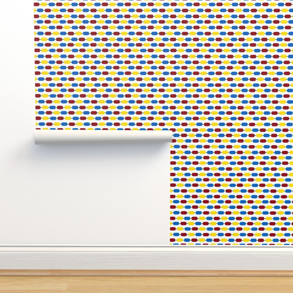 Isobar Durable Wallpaper featuring KindergartenBeads by jozanehouse