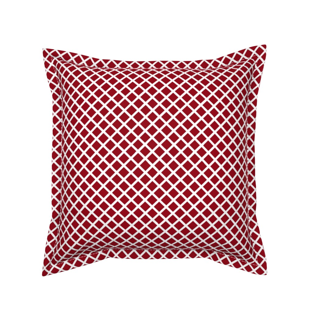Serama Throw Pillow featuring Through the Fence by jozanehouse
