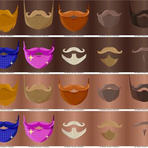 Masques Poils barbes peau 1-2