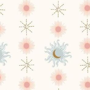 STRIPED SUN MOON STAR IVORY