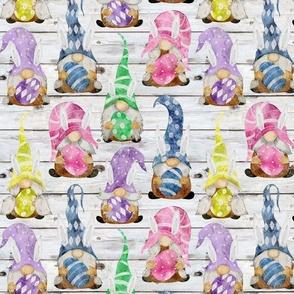 Bunny Gnome Assortment on Shiplap - medium scale