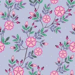 Dakota Prairies: Rose (lavender version)