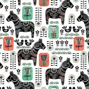 Dala horse Scandinavian