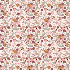 Pink Flowers Medium