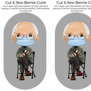 "Bernie Cutie Stuffie Buddy- 14"""