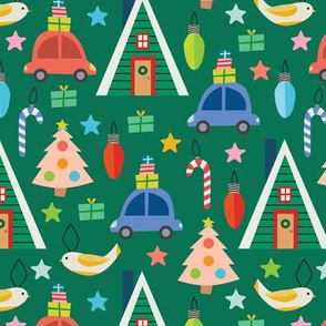 Christmas Cheer - Green