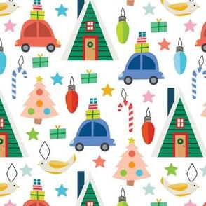 Christmas Cheer - White