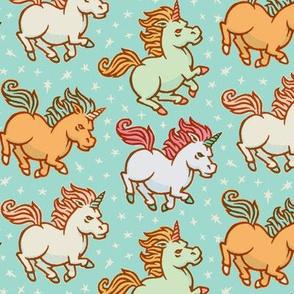 Fierce & Fabulous Unicorns LG