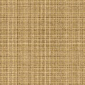 med-Pat's wildflowers tan burlap weave