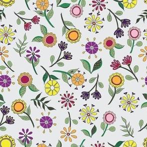 Scattered Floral