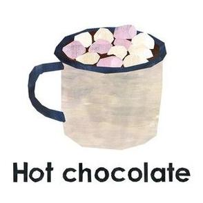 "hot chocolate  - 6"" Panel"