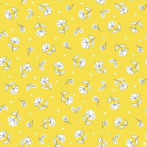 Dainty Florals ( yellow)