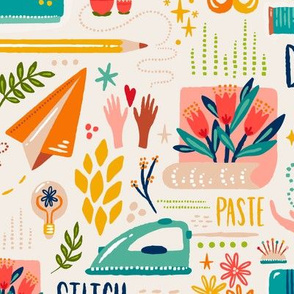 Send Joy //  Creative Packaging // © ZirkusDesign // Sewing, Crafting, Wallpaper, Quilting, Decorating, Interiors, Mail, Letters, Flowers, Painting, Ideas, Dream, Create, Sew, Bird, Floral