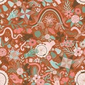 Hands of Spoonflower Makers
