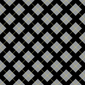 argyle in illuminating yellow and ultimate gray