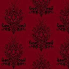 Lovely triffid Damask Red