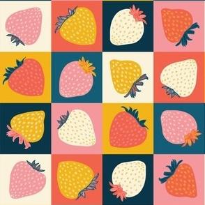 Strawberry Chequers
