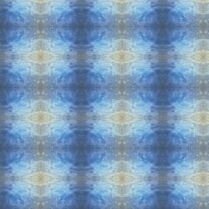 Watery Kaleidoscope Plaid