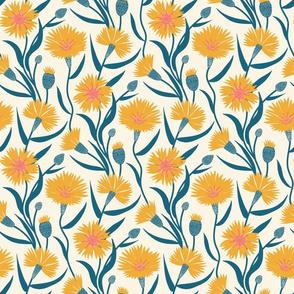 Sunny Cornflowers