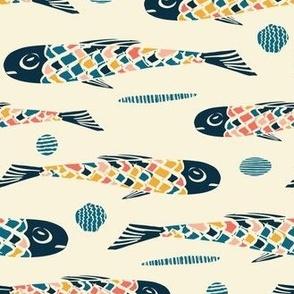 Fishies Swimming