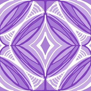 Ojo de Dios Protection, purple, Table Cloth size