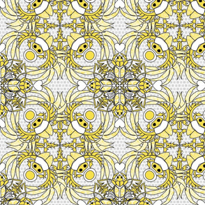 Scarabs wings ultimate gray and illuminating yellow