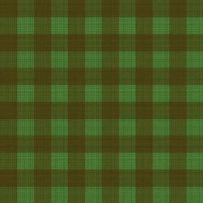 sm-Check brown on green