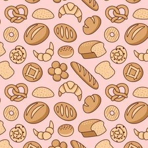 Bread Paradise on Pink
