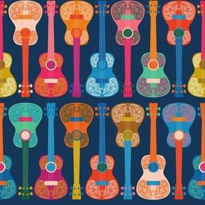 Small scale • Hawaiian ukulele blue