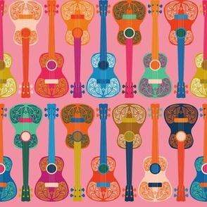 Small scale • Hawaiian ukulele pink