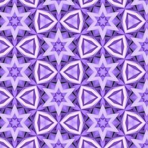 Violet Gems and Stars Prism