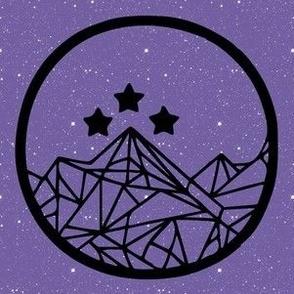 Night Court on Purple Large Scale