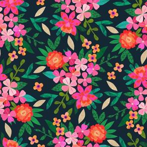 Paper Petals Bouquet - dark