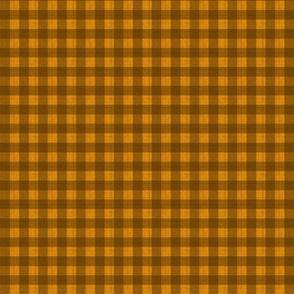 xs-check brown on orange