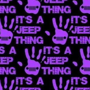 "jeep thing purple/black 2"""
