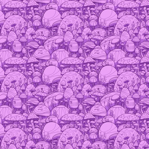 Mushrooms Purple