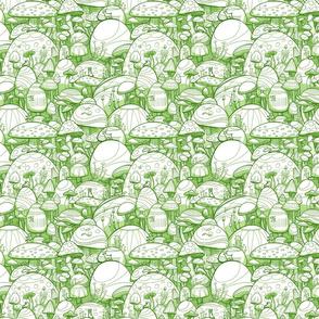 Mushrooms Green