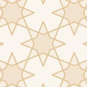 Geometric Pattern: Octagram: Linen