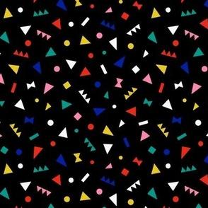 Playful Geometric Black