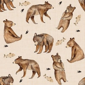 bears and fishes