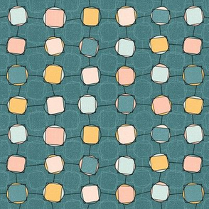 Square Pegs Round Holes - teal