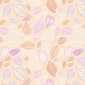 The earthy lover minimalist leaves garden boho beige pink blush girls