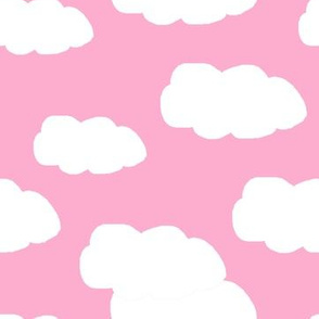 Clouds on Pink