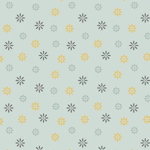Simple Colorful Flowers #005