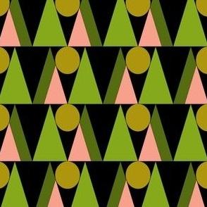 Triangles and circles No.1