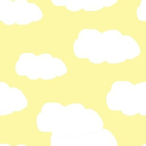 Clouds on Yellow